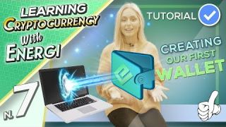 Creating a Cryptocurrency Wallet - Episode 7 - Learning Cryptocurrency with Energi