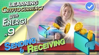 Sending and Receiving Cryptocurrency - Episode 9 - Learning Cryptocurrency with Energi